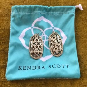 Kendra Scott Signature Filligree Earrings